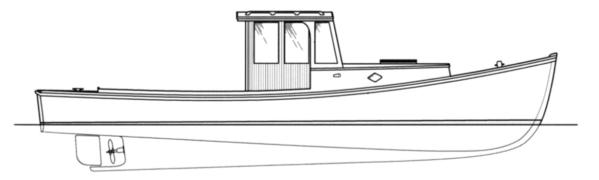 Inspired By The Reconstruction Of A 1950s Boat