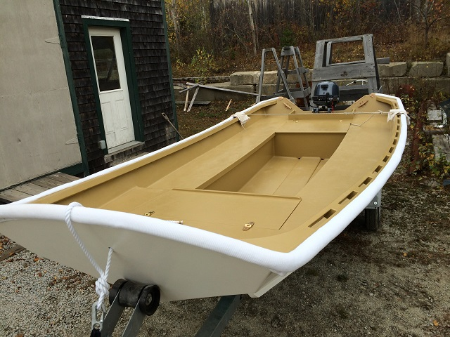 14ft Ben Garvey Hylan Brown Boatbuilders Brooklin Maine